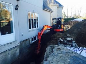 Excavation/Drain Français/Plomberie